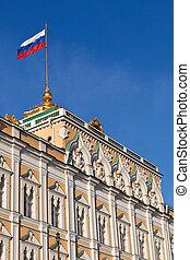 moscow., grande, cremlino, palace.