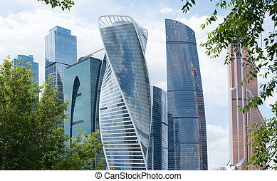 Moscow International Business Center, Russia - Moscow...