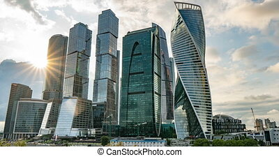 Moscow International Business Center so-called Moscow-City...