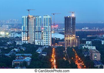MOSCOW - JUNE 1: Bogorodsky residential complex under...