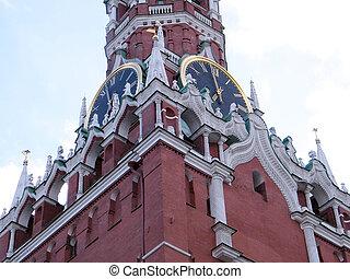 Moscow Kremlin 6-58 pm 2011