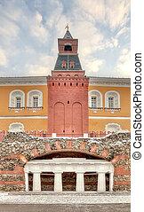 Moscow. Kremlin. Alexander Garden. Grotto