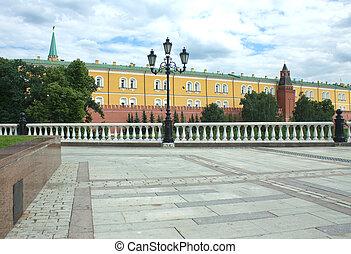 Moscow Kremlin and Alexander Garden