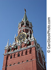 moscow kremlin clock