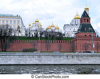 Moscow Kremlin First Unnamed Tower 2011
