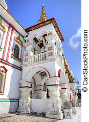 Moscow. Kremlin in Izmailovo - MOSCOW, RUSSIA - March...