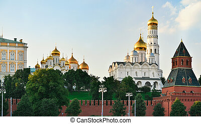 Moscow Kremlin in Russia
