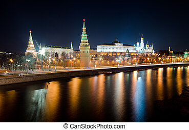 Moscow Kremlin, Russia - Kind to the Moscow Kremlin and...