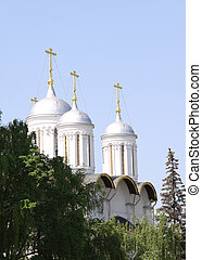 Moscow Kremlin - Churches, Spass Tower