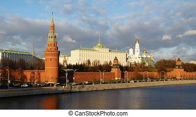 Moscow Kremlin, time-lapse