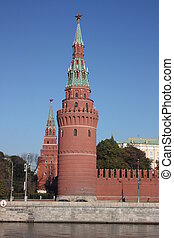 Moscow. Kremlin. Towers.