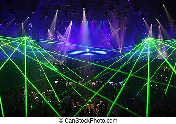 MOSCOW - MAY 7: Show of best DJ in world, Armin van Buren...