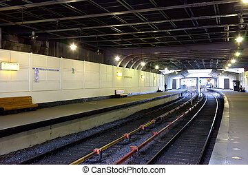 "Interior of metro station ""Kutuzovskaya"" in Moscow"
