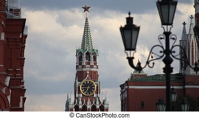 Moscow movie - Moscow, architecture, the sequence of shots