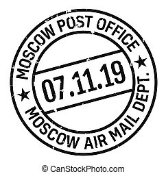 Moscow postage stamp