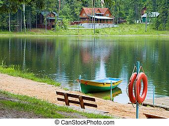 Moscow region, city Zvenigorod, Boating station Nikon D70s, Nikkor 50 1/8