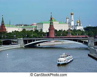 Moscow river - View from the Moscow river