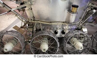 Russian moon probe in The Memorial Museum of Cosmonautics