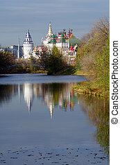 MOSCOW, RUSSIA - October, 2015: The Kremlin in Izmaylovo
