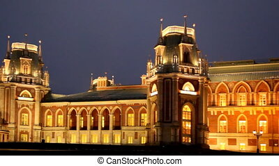 Tsaritsino museum and reserve in Moscow - Moscow, Russia -...