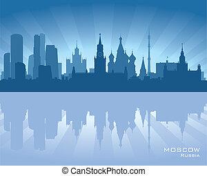 Moscow, Russia skyline