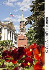 Moscow, Russia - Spasskaya tower