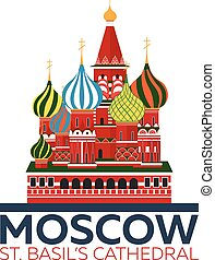 Moscow. Russia. St. Basil's Cathedral. - Moscow. Russia St...