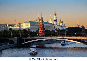Moscow, Russia - View from the Moscow river