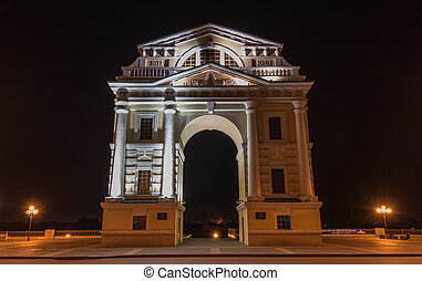 Moscow Triumphal Arch - Moscow Triumphal Gate. Triumphal...