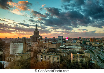 Moscow. View from above.