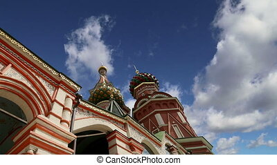 Moscow,Russia,Red Square,Cathedral - Moscow, Russia, Red...