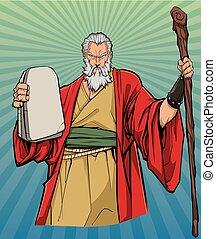 moses, icona religiosa