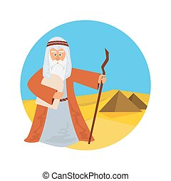 Moses Splitting The Sea - Moses splitting the red sea with...