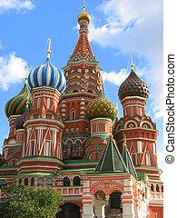 moskou, reizen, rusland