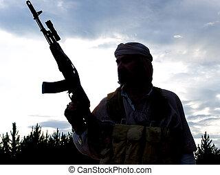 moslem, kämpfer