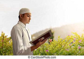 Weißes Mädchen aus muslim Kerl