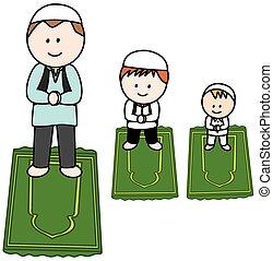 Moslem Prayer