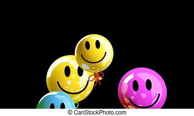 mosoly, derűs