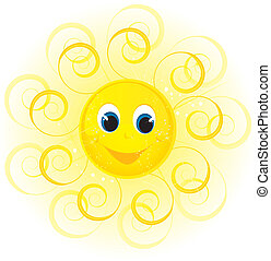 mosoly, nap