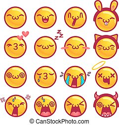 mosoly, szövedék icons