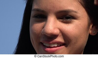 mosolyog woman, arc