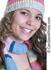 mosolyog woman