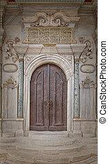 mosquée, portes