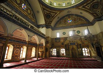 Mosque Al-Jazzar in Acre, Israel
