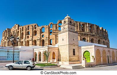 Mosque and Amphitheatre of El Jem, Tunisia