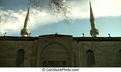 Mosque and Clouds