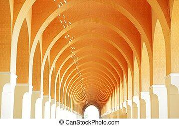 Mosque arc architecture