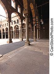 Mosque arcaded corridor