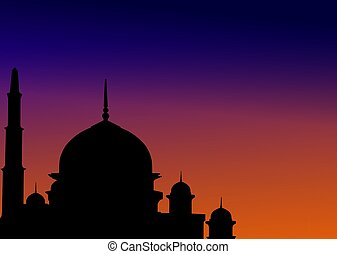 Mosque at dawn
