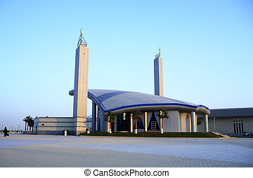 Mosque at Doha Sports complex